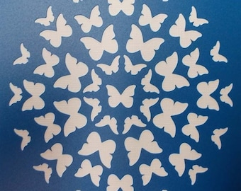 Circle of Butterflies Stencil