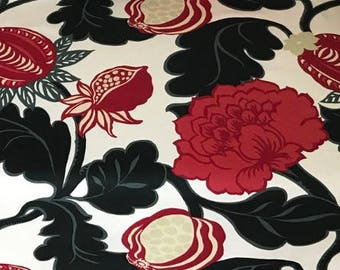 Bjork floral pattern cotton Fabric By The Metre