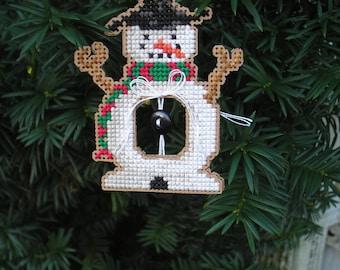 Freddie the Snowman Ornament