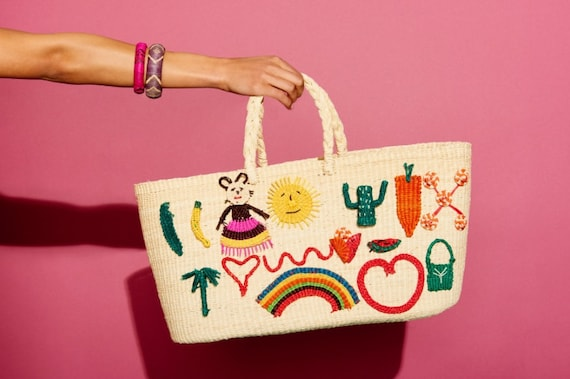 PATCHES BAG WHITE