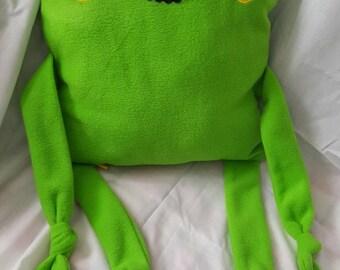 Ribbit the Frog Huggle Buddy Cushion