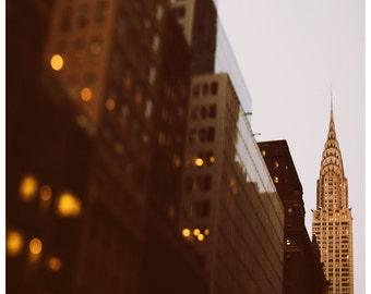 New York City - NYC - Manhattan - Bright Lights Big City - Original Fine Art Photograph - Landscape Photograph - Architecture - NYC Art