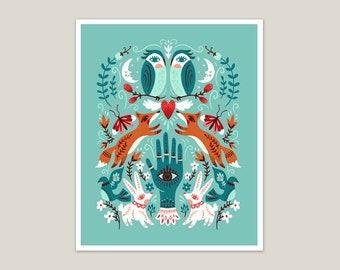 Good Fortune - Art Print 8x10