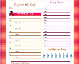 Organize My Day Planner