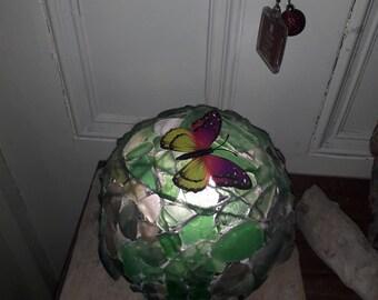 Sea Glass Lantern