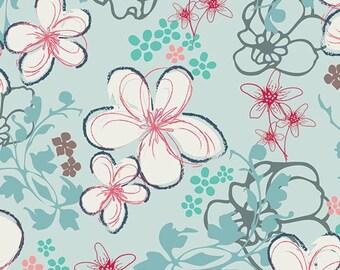Twirls in the Air, Half Yard Cut, Art Gallery Fabrics, NouVelle, Pat Bravo, Quilting Fabric