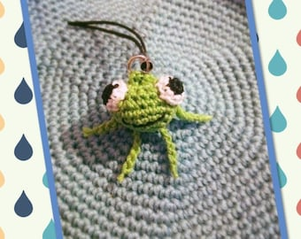 Keyring / bag charm, little frog