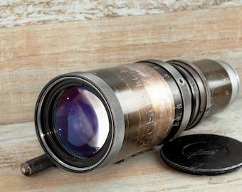 Rare LENAR 40-162mm F3.8 Zoom lens LOMO Lenkinap OCT-18 Konvas movie camera 1964