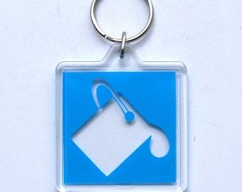 Photoshop Paint Bucket Icon Keychain / Accessory / Charm / Token