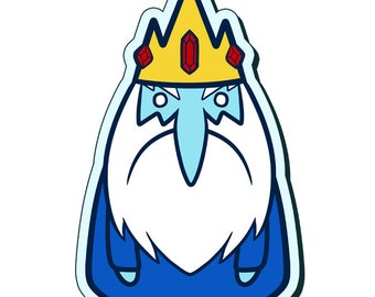 Ice King - 3 Inch Adventure Time Sticker