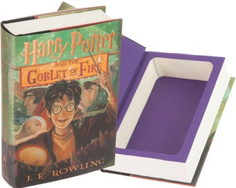 Hollow Book Safe - Harry Potter and the Goblet of Fire by J.K. Rowling (Magnetic Closure)