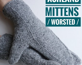 Ashland Mittens / Worsted