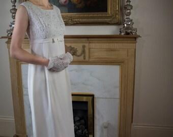Nancy 1960's Vintage Wedding/Occasion Dress