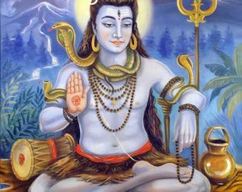 Spiritual Laminated Deity Cards