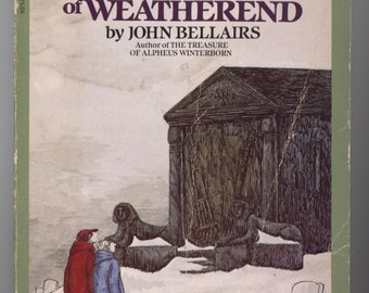 The Dark Secret of Weatherend by John Bellairs - Illustrated by EDWARD GOREY - TIB12592