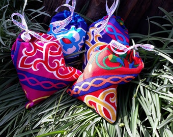 Ramadan fabric gift bag. Eid one. Gifts for guests. Surprises for children. Bag for Muslim party