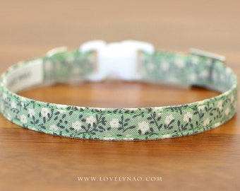 Garden Flower Cat Collar