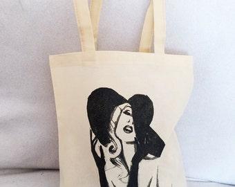 Canvas bag ECO FRIENDLY handmade