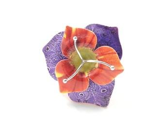 Margherita Flower Ring