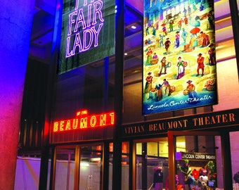 MY FAIR LADY broadway musical at Beaumont Theatre