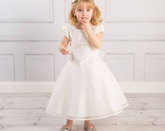 Matilda Flower Girl Dress 100% Silk