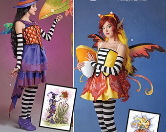 Simplicity Pattern 1034 -Fairy Outfit  Plus Size Out of Print