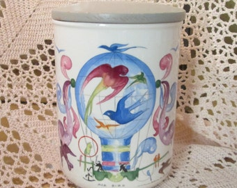 Vintage Villeroy and Boch Le Ballon Canister