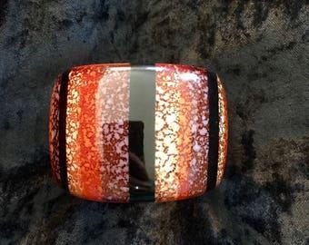 Cuff Bracelet from the 70s - resin (or bakelite?) - 70's Bangle