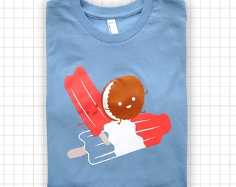 Rocketing Ice Pops YOUTH American Apparel T-shirt