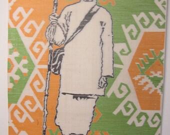 GANDHI SATYAGRAHA WEAVING