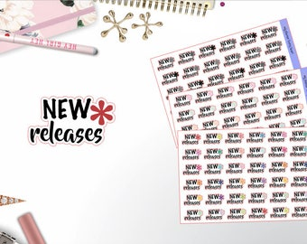 0427 - New Releases Text & Icons