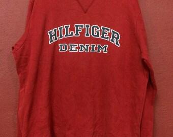 Vintage Tommy Hilfiger denim big logo