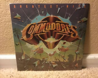 Sealed Commodores Greatest Hits LP Vinyl Record 1978