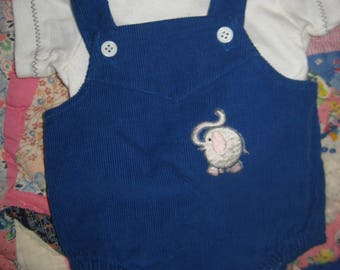 Cabbage Patch Kid Clothing/Outfit Elephant Romper