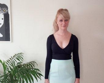 Vintage mint green skirt