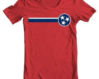 Tennessee T-shirt - Tennessee State Flag - My State Tennessee T-shirt