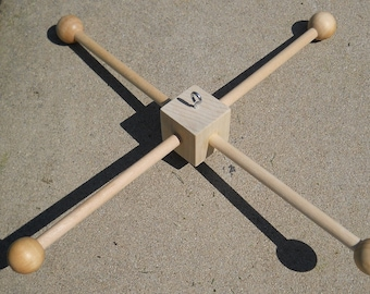 Wooden Baby Mobile Frame Unpainted