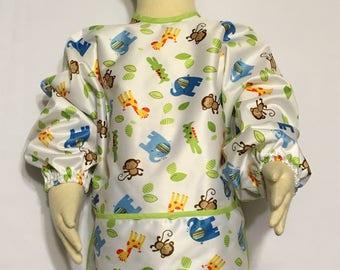 Infant /Toddler Waterproof Sleeved Bib/Art Smock