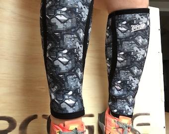 Cyborg Print Calf Sleeve - Last ones L & XL only
