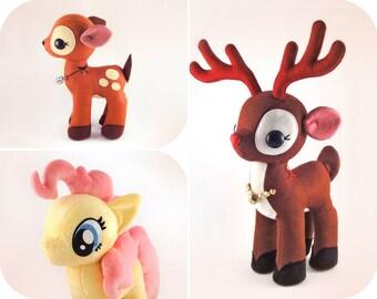 Reindeer Fawn Pony - PDF Pattern