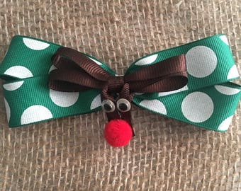 Rudolph the Reindeer Barrette