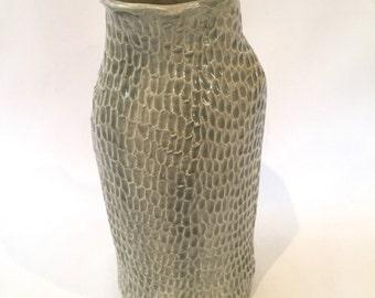 Wabi-Sabi Grey Vase