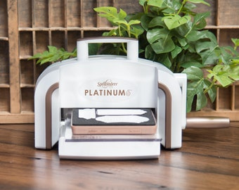 "Platinum 6 Die Cutting And Embossing Machine - 6"" Platform PE-100"