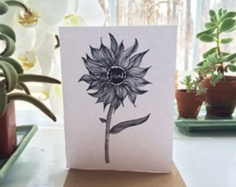 "Handmade ""Friend"" any occasion greeting card"