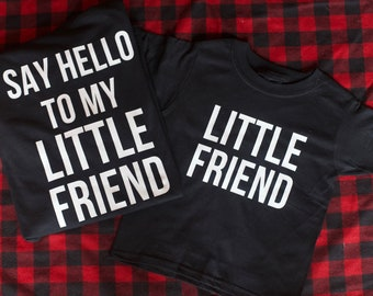 Say hello to my little friend set with FREE SHIPPING