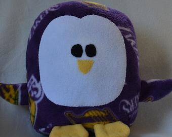 Plush LA Lakers  Penguin Pillow Pal
