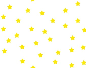 Small Yellow Star Paper