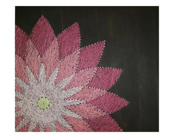 String Art- Flower