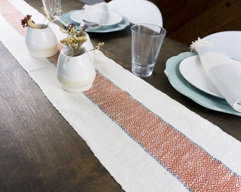 """Hand Woven """"Valleys"""" Table Runners"""