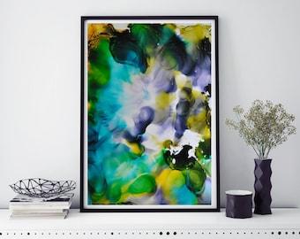 Wall Print, Giclee Print, abstract artwork, Wall art, Home art